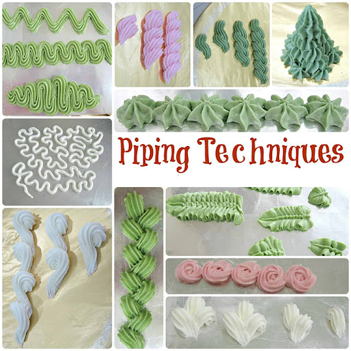 Baking Piping Techniques